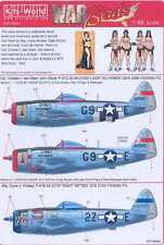 Kits World Decals 1/48 P-47D THUNDERBOLT Look No Hands & Eight Nifties
