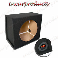 "12"" Vuoto Sub Subwoofer Alloggiamento MDF Nero Carpted Boom Box"