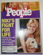 People Magazine Niki Taylor's Fight For Life June 2001 030715R