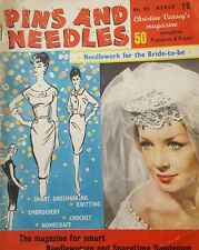 Vintage Pins and Needles Magazine No. 98 March  Issue