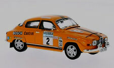 wonderful modelcar SAAB  96 V4 #2 -  2nd RAC-Rally 1974 -  scale  1/43 - ltd.ed.