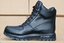 "NIB-Nike ACG Air Max Goadome 6"" WP Men's Blackout Waterproof Boots Sz 13"