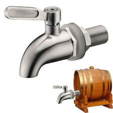 304 Stainless steel Spigot Tap Faucet for Wine Barrel Drink Beverage Dispenser #