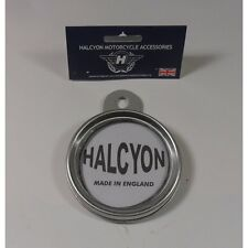 Halcyon Tax Disc Holder No 271 Silver Grey Finish Screw Type Cover