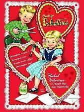Press Out Book: Vintage Valentines by Golden Books Staff (2005, Paperback)