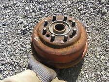 Ford 8N 9N 2N tractor original rear 8 bolt wheel rim hub & stud bolts