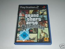 Ps2-Grand Theft Auto San Andreas ** Playstation 2 gioco GTA