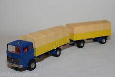 DINKY TOYS 917 MERCEDES-BENZ LP 1920 TRUCK WITH TRAILER EXCELLENT CONDITION