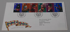4th Sept 2001 Punch and Judy Show Puppets First Day Cover SHS