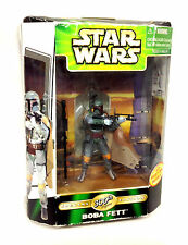 Star Wars 300th figure Annivesary BOBA FETT Action Figure RARE, BOX DAMAGED