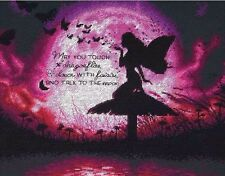 """Dimensions Counted Cross Stitch Kit 14"""" x 11"""" ~ BUTTERFLY FAIRY #70-35337 Sale"""