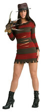 Adult Miss Krueger Costume Sexy Freddy Krueger Costume Cosplay Size Large