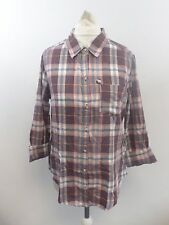 Holister Check Plaid Shirt Size S Box4669 L
