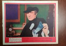 1966 Original Lobby Card - Chamber Of Horrors - 11x14, Cesare Danova, Great!