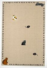 HANDMADE CAT BULLETIN MEMO MEMORY BOARD & KITTEN KITTY MOUSE RAT MICE PUSH PINS