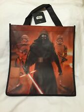 Star Wars Force Awakens Kylo Ren Storm Trooper Tote Bag Shopper New Light Saber