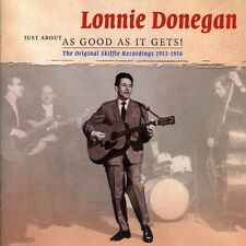 LONNIE DONEGAN - JUST ABOUT AS GOOD AS IT GETS 2 CD NEU