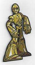 "RARE STARWARS ""CP30"" IRON ON PATCH 10 cms x  5.5 cms"