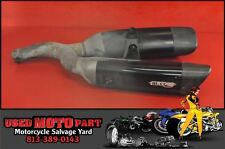 08 09 SUZUKI BKING B-KING GSX 1300 BK MICRON EXHAUST MUFFLER SLIP ON CARBON PIPE
