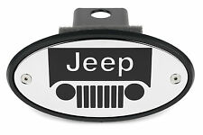 Jeep Grille Licensed Chrome Receiver Hitch Cover USA MADE QUALITY