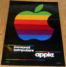 APPLE COMPUTER * poster * 34/24 inches approx. * mint (no pinholes or tapemarks)