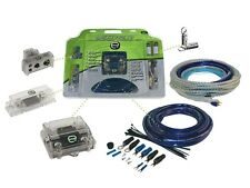 SCOSCHE E3200 EFX E2 0/1 Gauge 3200W Complete Dual Amplifier Installation Kit