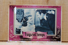 FUGA NEL TEMPO fotobusta poster Enchanthement Teresa Wright David Niven 1948