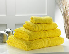 THICK 100% EGYPTIAN COTTON COMBED TOWELS HAND BATH TOWEL SHEET OR BALE SETS