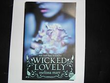 MELISSA MARR – Wicked Lovely, Book 1 in the series (Paperback, 2008)