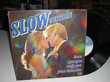 33 TOURS / LP--COMPIL SLOW GUITARE--JEUX INTERDITS/ONLY YOU/LOVER/NUAGES