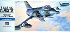 F 104 g/s starfighter (allemand et italien af MKGS) 1/72 hasegawa rare!