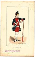PLANCHE BOMBARDIER DE LA MARINE 1774 par GASTON ROULLET