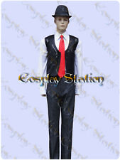 Kamen Rider Double Shotaro Hidari Cosplay Costume_commission619