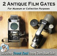 Lot of 2 Antique Film Gates Micrcopes - Spencer Lens Co NY for Museum or Display