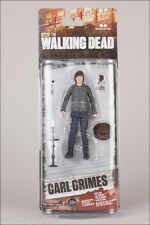 "CARL GRIMES THE WALKING DEAD TV SERIES 7, 5"" ACTION FIGURE MCFARLANE TOYS"