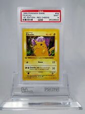 PSA 9 MINT 1st Edition Red Cheeks Pikachu Shadowless Pokemon 1st Base Set 58/102