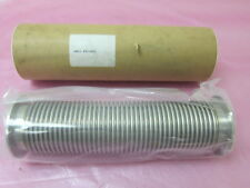 TEL FX50K25 Vacuum line Bellows Hose Pipe NW50, KF50 Flange, 12in length 406458