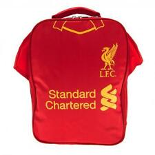 Liverpool Fc Kit Lunch Bag Red & Yellow LFC Football Shirt School Dinner Box New