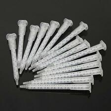15PCS 50Ml MA5.4-17S Epoxy Resin Applicator Dispenser Static Mixer Mixing Nozzle