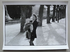 Photo Original Raymond Depardon Magnum Paris Jardin des Plantes 1991