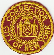NEW YORK CORRECTION (OLDER) POLICE PATCH NY SEE PICS
