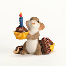 Charming Tails Celebrating Your Sweetness Birthday Figure Mouse NEW NIB 4030957