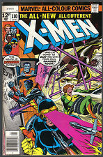 THE X-MEN ISSUE NUMBER 110 PRODUCED BY MARVEL COMICS IN 1977