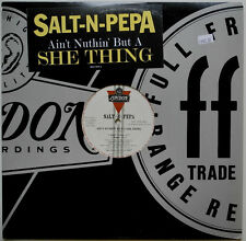 "12"" US**SALT-N-PEPA - AIN'T NUTHIN' BUT A SHE THING (LONDON REC. / PROMO)**23032"