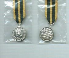 Miniature of the QUEEN'S VOLUNTEER RESERVE MEDAL- EIIR