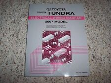 2007 Toyota Tundra Truck Electrical Wiring Diagram Manual SR5 Limited 4WD 5.7L