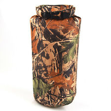 Camouflage Waterproof Resistant Dry Bag Floating Boating Kayaking Camping 15L