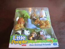 Fisher Price Little People Zoo Animal Friends Lion 9 Pack monkey ALLIGATOR zebra