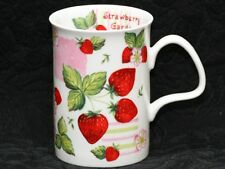 ROY KIRKHAM STRAWBERRY GARDEN Fine Bone China LANCASTER Mug #2a