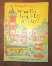 UNABRIDGED Richard Scarry's Scarry WHAT DO PEOPLE DO ALL DAY?    - 7F